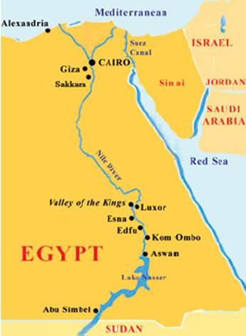 Part 1: Cairo, Memphis, Saqqara, Giza,  Luxor and Esna, Egypt