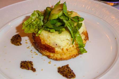Goat Cheese Souffle Roast Heirloom Beet Salad